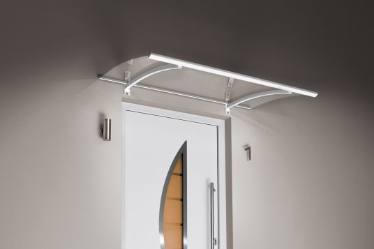 Auvent classique LED blanc